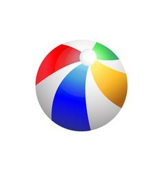Beach ball vector