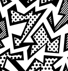 Monochrome cloth seamless pattern vector