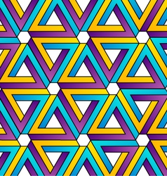Background with pen rose triangles vector