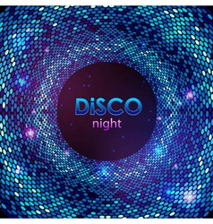 Disco abstract background vector