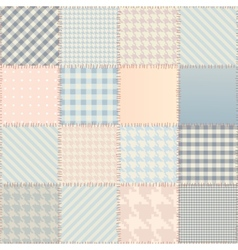 Quilting design background vector