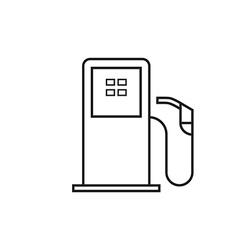 Petrol pump vector