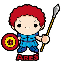 God of war ares vector