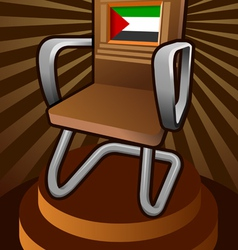 Palestine candidate for the seat on unesco vector