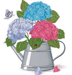 Spring bouquet vector