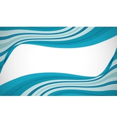 Business background wave vector