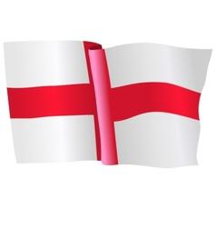 Flag of england vector