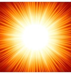 Sun flare vector