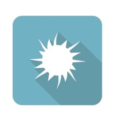 Starburst icon vector