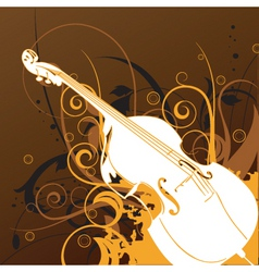 Violin graphic vector