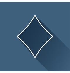 Game rhombus icon eps10 vector