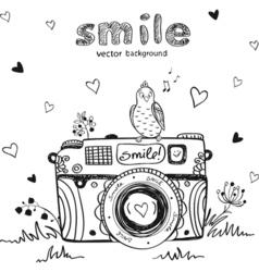 Camera creative vector