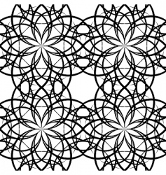 Illustration sieamles tile ornate pattern vector
