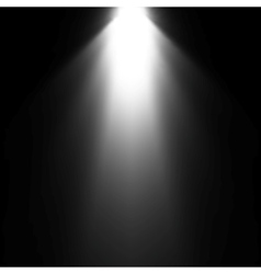 Light beam from projector vector