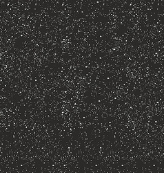 Night sky filled with stars vector