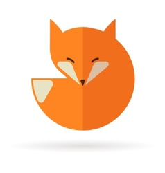 Fox icon and element vector