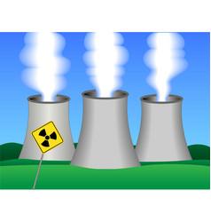 Nuclear power plant vector