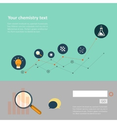 Set of flat design concepts for web and printing vector