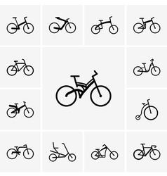 Bikes vector