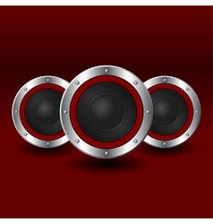 Speakers background vector