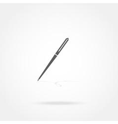 Icon pen vector