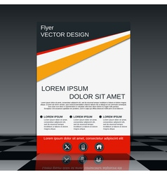 Business flyer template vector