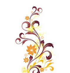 Floral graphic vector