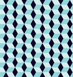 Seamless geometric rhombus color pattern backgroun vector