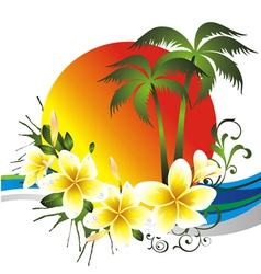 Tropical card vector