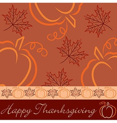 Happy thanksgiving vector