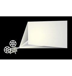 Cinema frame vector