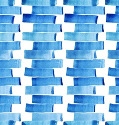 Watercolor pattern with strips vector