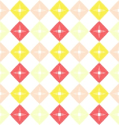 Geometric waving grid pattern vector