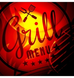 Barbecue grill vector