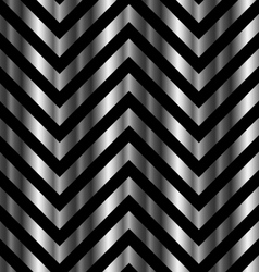 Optical with metal bars and zig zag lines vector