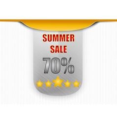 Sale promotion label vector