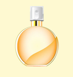 Perfume spray bottle vector