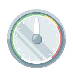 Speedometer flat icon vector
