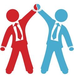 Business people celebration vector