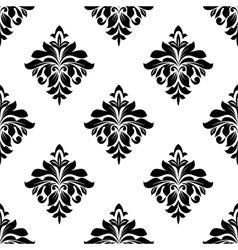 Foliate seamless pattern background vector