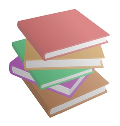 Plain book vector