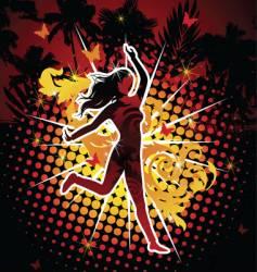 Dancing diva vector