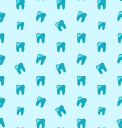 Seamless texture with tooth health care background vector