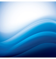 Aqua waves background folding vector