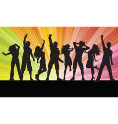 Party people vector
