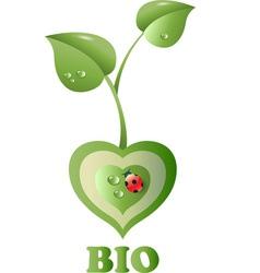Bio heart vector