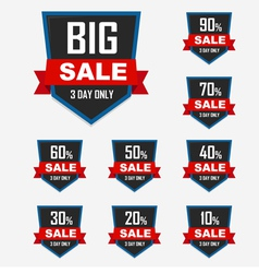 Big sale best offer badge sticker label or tag vector