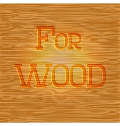 Wood pattern light texture with brown color vector