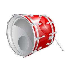 Bass drum vector