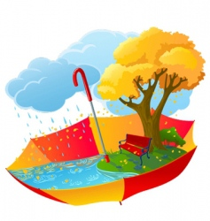 Autumn icon vector